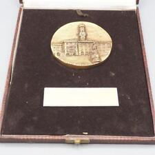 Vintage Vercelli Italy Medal Plaque w/ Box