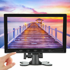 "Ultra Delgado 10.1"" Hdmi Vga Audio Video pantalla HD Coche Monitor para Raspberry Pi 3/2/B+/PC"