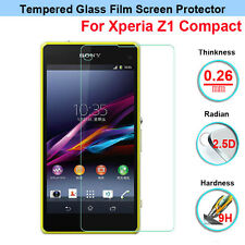 Anti-Explosion Tempered Glass Screen Protector for Sony Xperia Z1 Compact D5503