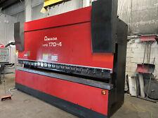 187 Ton X 14'  Hydraulic Press Brake - Fabricating Machinery