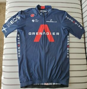 CASTELLI INEOS GRENADIER COMPETIZIONE CYCLING JERSEY MEDIUM SHORT SLEEVE