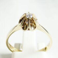 Ring Gold 585er Brillant 14 kt. Goldringe Vorsteck Ehering Diamant Edelsteine