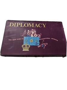 VINTAGE DIPLOMACY BOARD GAME GOOD CONDITION COMPLETE