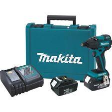 Makita LXDT08X1 18V Cordless LXT Li-Ion Brushless Impact Driver Kit w/Bits New