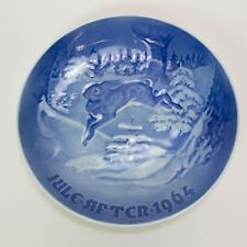 "Vintage Collector Plate By H. C. Anderson & Kjodenhavn, 1964 ""Grantraeet"""