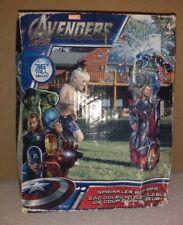 Marvel Avengers Sprinkler Bop Bag 36 inches Tall NEW Hulk Thor Captain America