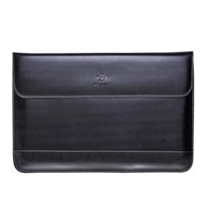 "Schwarz Note Book Tablet Leder Lap Top Tas Che Sleeve Hülle 13,3"" Zoll Schutz"