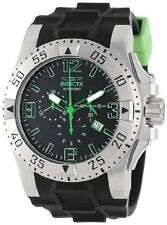 Invicta 11790 Men's Excursion Sport Chronograph Black Polyurethane Watch