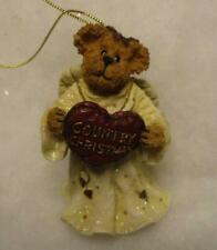 Boyds Angel Ornament, Merry Angelbeary 1E/6 Country Christmas