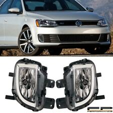 For 2012-2015 Volkswagen Jetta GLI Replacement Fog Light Housing Assembly Pair