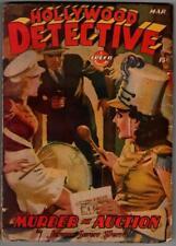 Hollywood Detective Mar 1944 HJ Ward cover