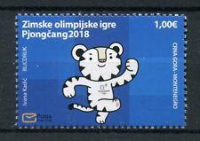 Montenegro 2018 MNH Paralympics PyeongChang 2018 Winter Olympics 1v Set Stamps
