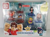 Ralph Breaks the Internet Power Pac Collectible Set - Wreck-It Ralph Figures new