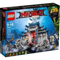 LEGO 70617 The Ninjago movie Tempio delle Armi Finali costruzioni nuovo