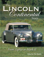 LINCOLN CONTINENTAL STORY BOOK HOWLEY HISTORY