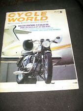 CYCLE WORLD magazine May 1970 BSA Lightning Harley Baja Dunstall Nortons Bingham