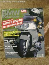 Mo Sonderheft BMW Motorräder Nr.5 R 1150 RS F 650 CS R 1100 S