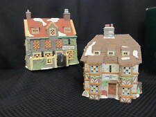 Department 56 Dickens Heritage Village Dedlock Arms 5752-5 & Falstaff Inn 5753-3