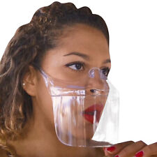 Outdoor Protective Transparent Face Shield Anti-fog Reusable Washable