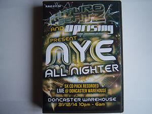 PHUTURE BEATZ & UPRISING NYE ALL NIGHTER - 31.12.14 - 6 CD PACK