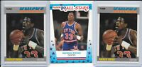 1987 1989 Fleer Patrick Ewing LOT VERY CLEAN Sticker Base HOF New York Knicks