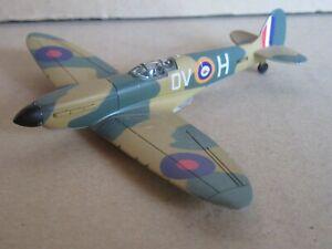 864M Del Prado Supermarine Spitfire MK II QV H R6776 Avion WW2 1:87 Ho