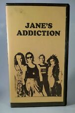 Jane's Addiction Concert VHS Live In Milan Italy 11/24/1990 VCR Perry Ferrell