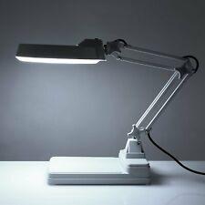 Lupenlampe Stativ Lupenleuchte Tischleuchte Vergrösserungslampe mit 10 Dioptrien