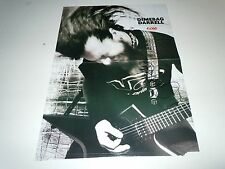 DIMEBAG DARRELL~Signed Guitar World Centerfold~PANTERA~May 2000~plus Guitar Pick