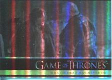 Games Of Thrones Season 2 Foil Parallel Base Card # 07 What Is Dead May