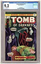 Tomb of Darkness 13 (CGC 9.2) Horror; Bondage cover; Marvel Comics; 1975 B990