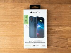 Mophie | Juice Pack Access Battery Case for iPhone X, XS (Blue)