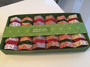 Origins Surprise Twists Christmas Crackers with Miniature Treats