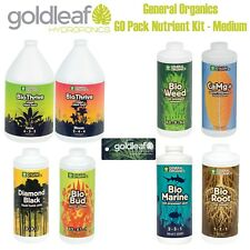 General Organics GO Pack Complete Organic Nutrient Kit - Medium