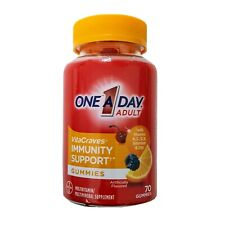 One-A-Day Adult VitaCraves Immunity Support Gummies 70 Count Exp 01/2022