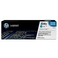 HP CC531A Cyan Original Genuine LaserJet Toner Cartridge 304a