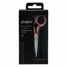 "Gingher 4"" Evelyn Designer Embroidery Scissors"