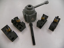 MINI QUICK CHANGE TOOL POST SET 5pc FOR 7 X 10 , 12 , 14 MINI LATHES    XS206