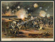 Christian Votteler Beschießung Straßburg Artillerie Krupp Kanonen Ballistik 1870