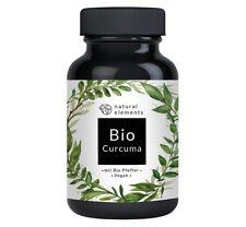 Bio Curcuma (Kurkuma) 240 vegane Kapseln 4440 mg pro Tagesdosis Mit Curcumin