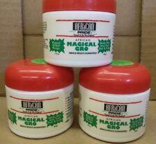 New African Pride Original MAGICAL GRO Herbal Recipe Lot of 3 Jars 1.75 oz Each