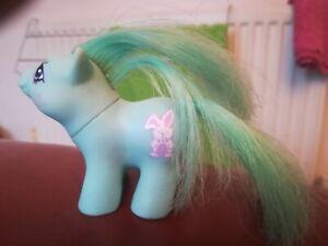 MLP My Little Pony Suprise Newborn Snoozy Rabbit 1987 80s Toys TV Ponies Used