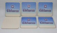 EDELWEISS BIERE BLANCHE 6 sous-bocks sous-verre NEUF