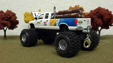 1/64 Custom Lifted DODGE RAM 2500, ERTL, NEW HOLLAND, AGRICULTURE, TRICKED OUT