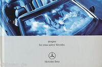 3029MB Mercedes Designo Prospekt 2000 9/00 deutsche Ausgabe brochure