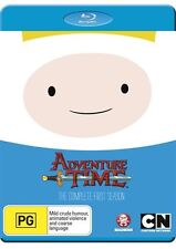 Adventure Time - The Complete First Season NEW B Region Blu Ray