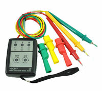 VC850 3 Phase Sequence Rotation Indicator Tester 200~480V Checker Meter