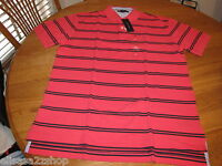 Men's Tommy Hilfiger Polo shirt stripe knit M logo 7825572 Huckleberry 969 NEW