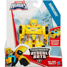 New PLAYSKOOL HEROES TRANSFORMERS RESCUE BOTS BUMBLEBEE Robot to Sports Vehicle