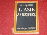 [LAROUSSE ARTS STYLES & TECHNIQUES] G.CONTENAU / ASIE ANTERIEURE Illustrations